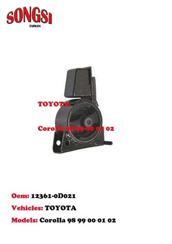 Engine Mounting-Toyota Corolla