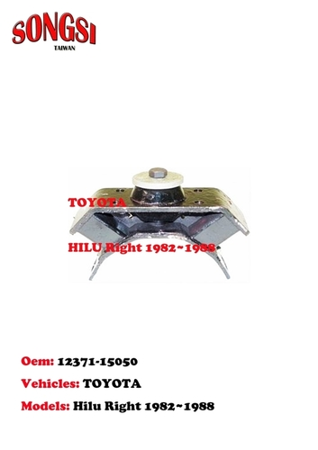 Engine Mounting-Toyota Hilu Right 1982-1988