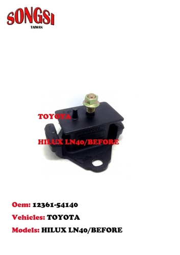 Engine Mounting-Toyota Hilux LN40 Before