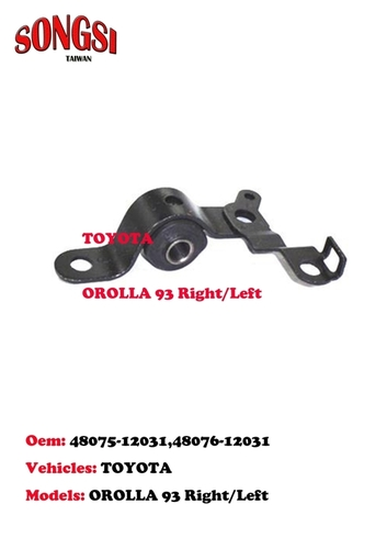 Engine Mounting-Toyota Orolla 93 Right & Left