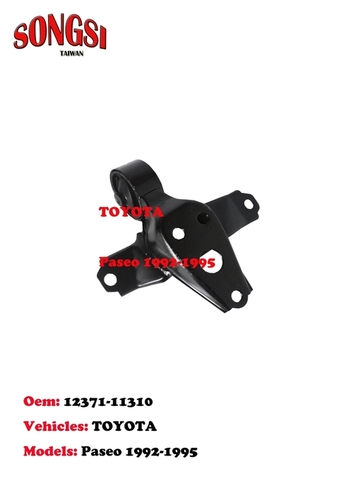 Engine Mounting-Toyota Paseo 1992-1995