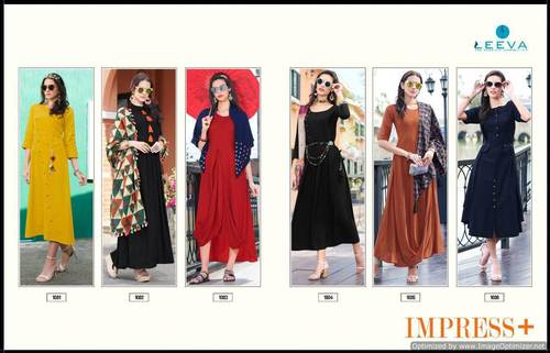 Impress Plus Kurtis in  Bombay Market