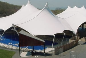 Canopy Tensile Protective Shed