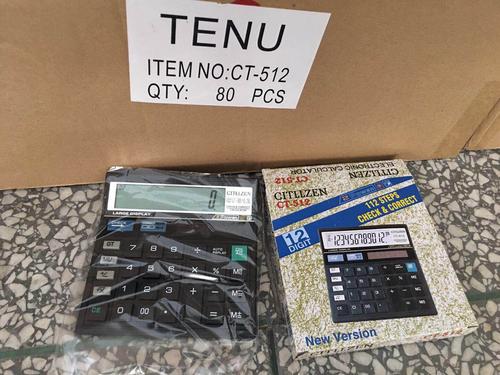 CT512 Black Calculator