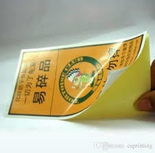Paper Laminated Stickers