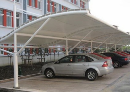 SUV Parking Shed