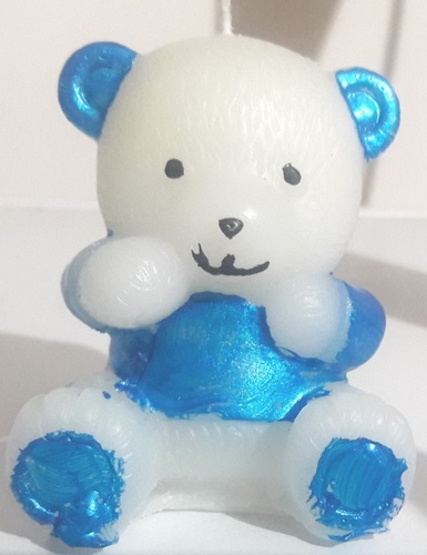 Big Size Teddy Bear Candles