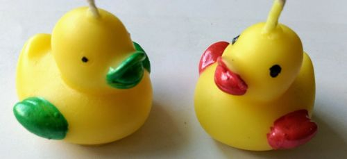 Duck Birthday Candles