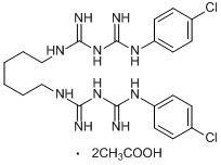 Chlorhexidine di Acetate in   Estate