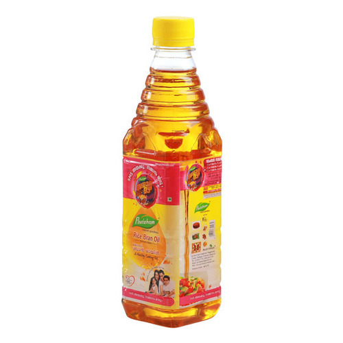 Rice Bran Oil (500ml) Bottle