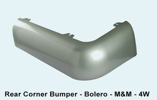 Bolero Car Rear Corner Bumper