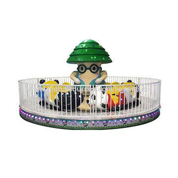 Minions And Panda Amusement Ride