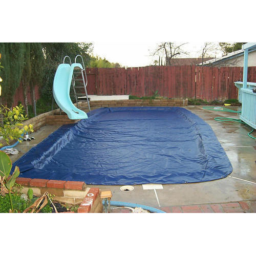 Blue Color Swimming Pool Cover