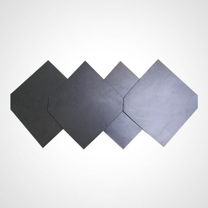 Blues Square Stone Roofing Tiles