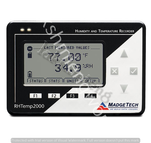 Temperature Humidity Logger With Lcd