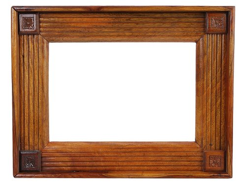Seasoned Teak Wood Mirror Frames