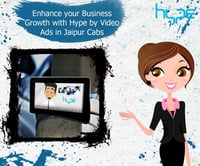 Video Ads in Jaipur Cabs