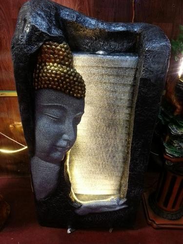 Half Buddha Face Fountain