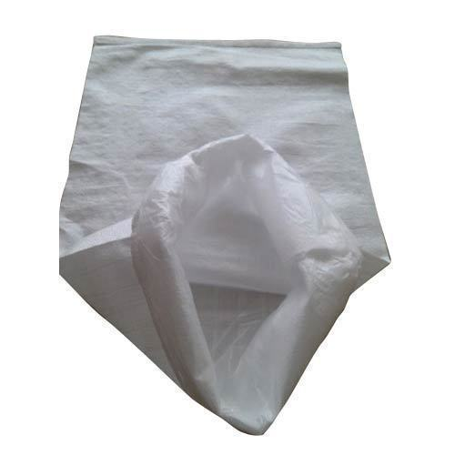 Pp Woven Sack In Plain White For Carrying Rice