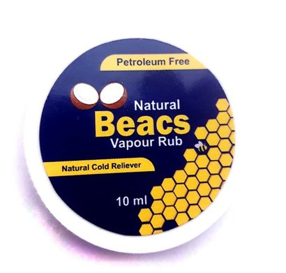 Beacs Vapour Rub Age Group: For Adults