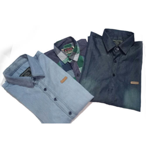 Mens Denim Shirts In Unique Stylish Color