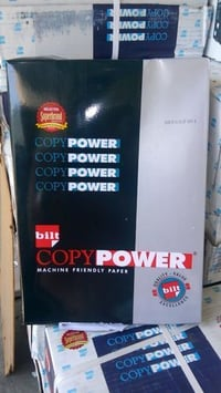 Copy Power Copier Paper Available With Affordable Quality