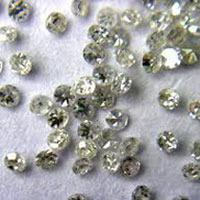 Single Cut Shiny Diamonds