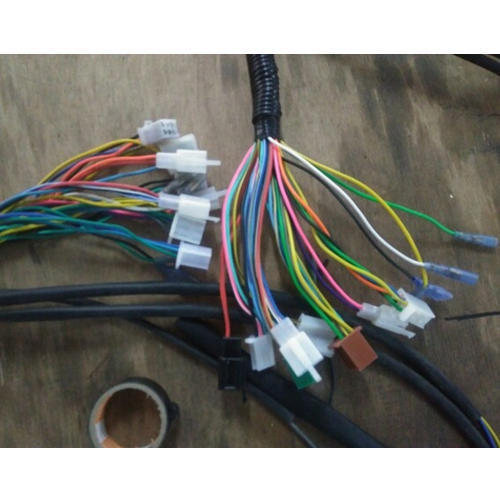 Cool Multicolor E Rickshaw Wire Harness For Automobile Automotive Wire Wiring Cloud Philuggs Outletorg