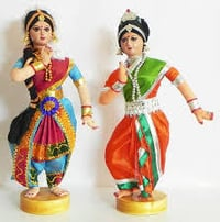 Indian Traditional Dancing Women Toys