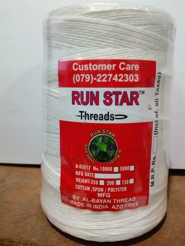Run Star Polyester Bag Closing Thread in  Rakhial