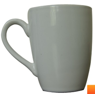 White Collection Coupe Mug