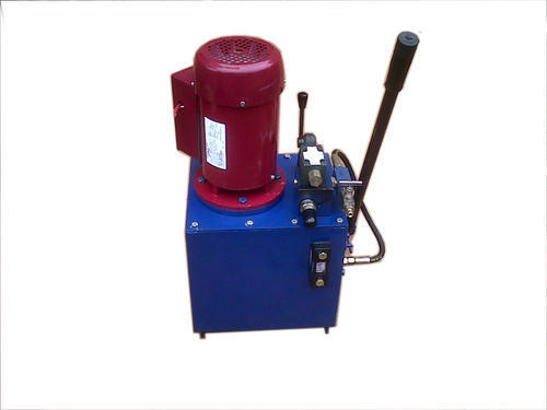 Power Pack With Hand Pump, Lever Type Dc Valve