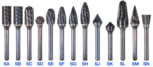 Carbide De Burring Tools