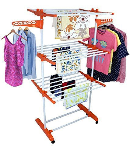 Ezzideals 3 Layer Clothes Dryer Stand