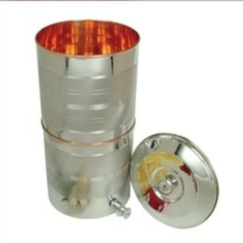 Stainless Steel Copper Double Water Dispenser