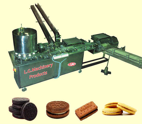 Cream Biscuit Sandwiching Machine