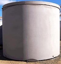 Industrial Cement Water Tanks