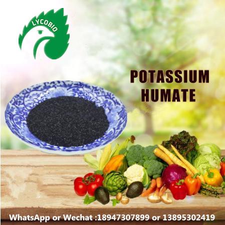 Water Solubility Potassium Humate Flake