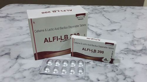 Cefixime & Lactic Acid Bacillus Tab.