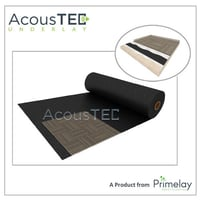 Carpet Tile With Sound Proof Insulation Underlay