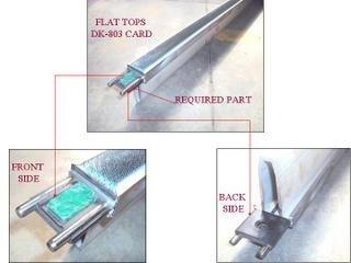 Aluminium Carding Flat