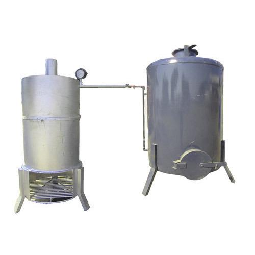 Cashew Boiler Machine