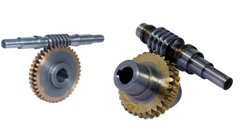 Worm Wheel 40t With Shaft For Blow Room Scyrche