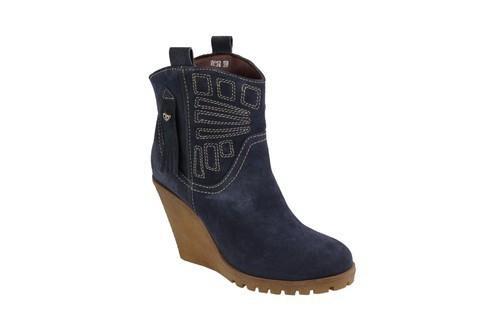 8036-blue Delize Women Boot