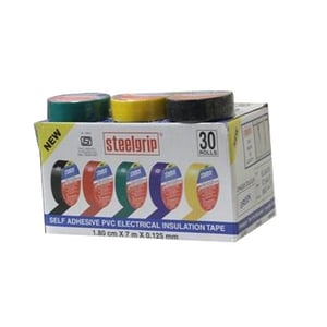 Electrical Steelgrip PVC Insulation Tapes