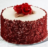 Rose Cake With Egg