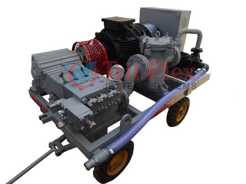 High Pressure Water Jet Cleaning Pumps 1000 BAR