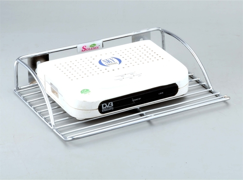 Stainless Steel Set Top Box Stand