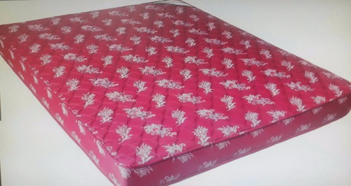 Pink Color Printed Bed Mattress
