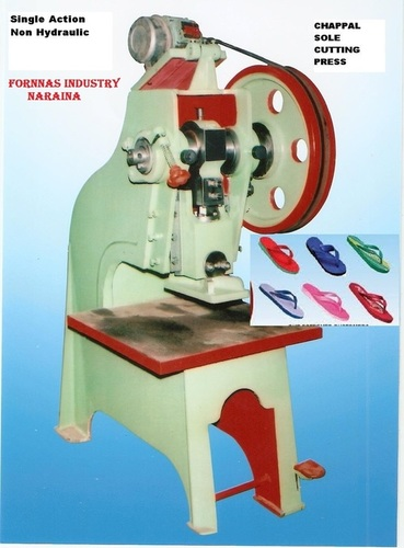 High Performance Slipper Making Machine In New Delhi